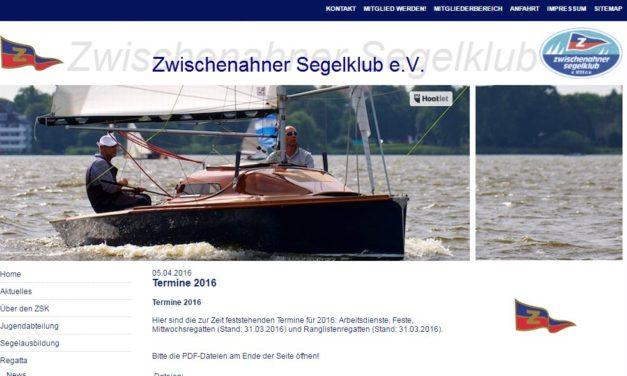 Frühjahr 2018 im ZSK – 3 Läufe konnten gesegelt werden