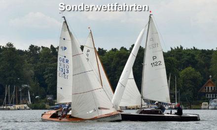 Ergebnisse Sonderwettfahrten auf dem Langer- / Seddinsee