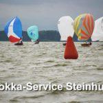 Ergebnisse & Bilder vom Mocca-Service der 15qm Jollenkreuzer in Steinhude