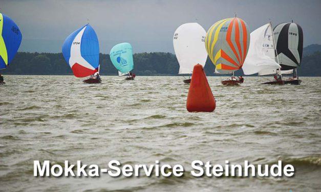 Goldenes Mokka-Service des HYC mit 17 Crews