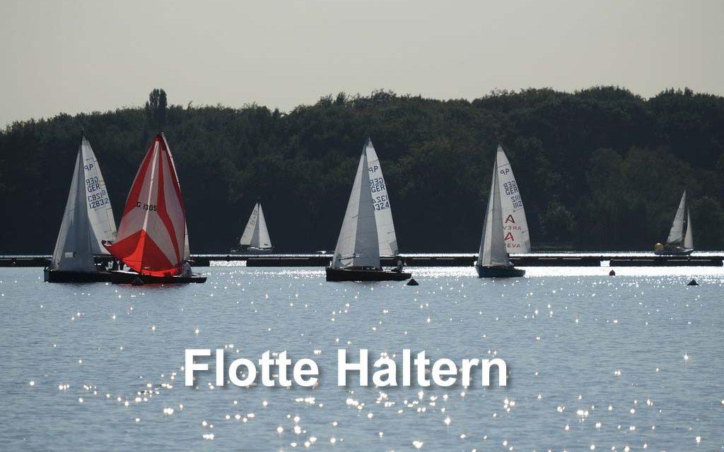 Einladung zum diesjährigen Flottentreffen der Halterner 15er Jollensegler.