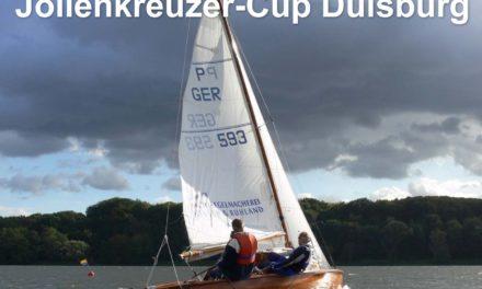 Bericht vom Jollenkreuzer-Cup in Duisburg