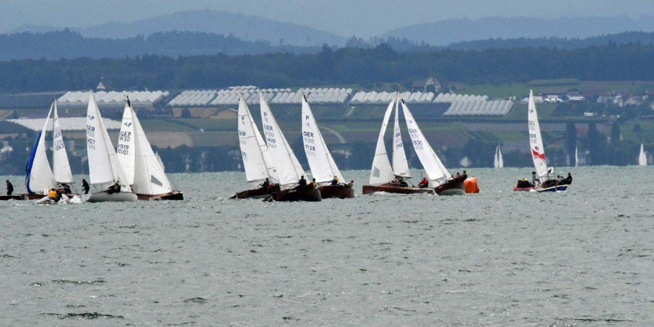 Erste Bilder von der Vorregatta zur IDM am Bodensee