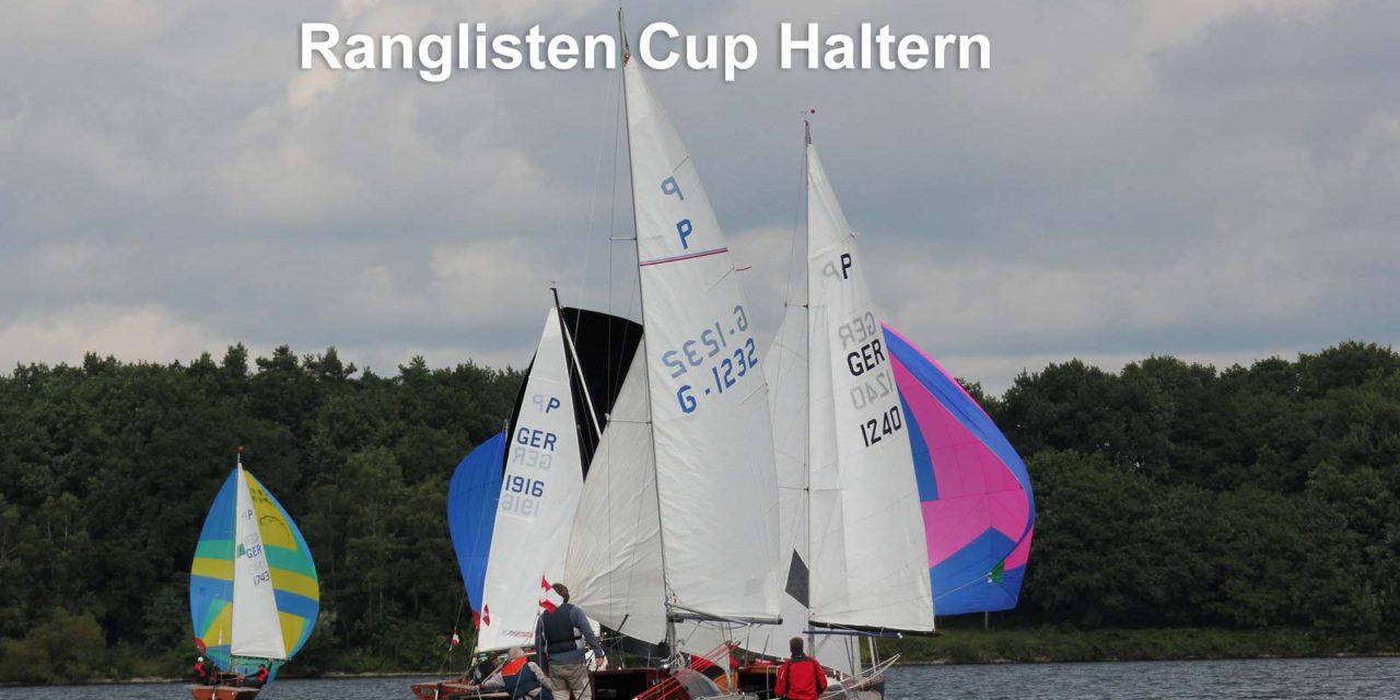 Ranglisten-Cup Haltern – 13 Crews segeln 5 Wettfahrten