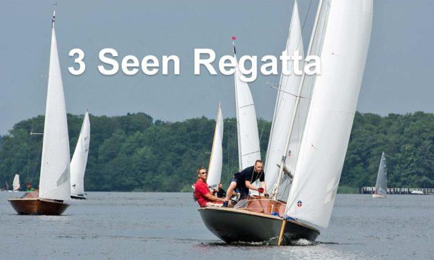 Ergebnisse 3 Seen Regatta online mit zu wenig Meldungen für Rangliste