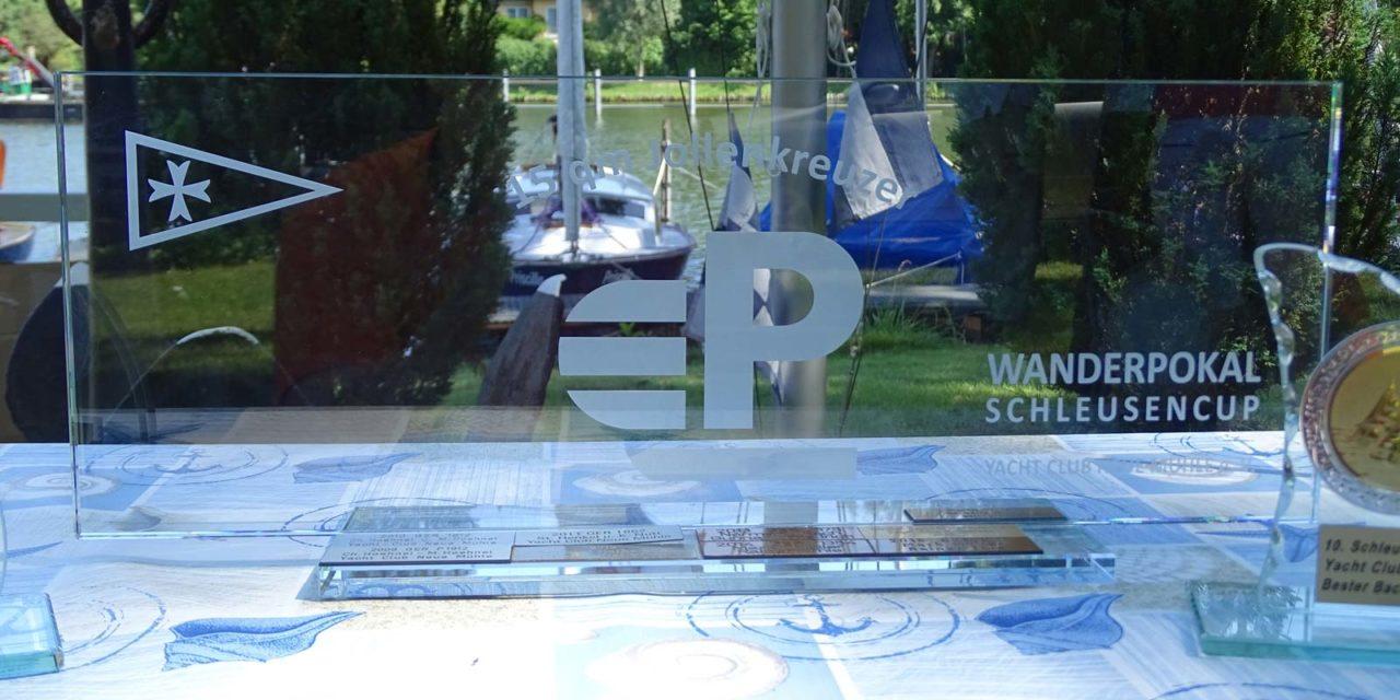 Mast- und Schotbruch fast wörtlich genommen -10. Schleusencup des Yacht Club Neue Mühle e.V.