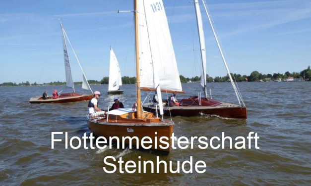 Flottenmeisterschaft der P-Bootflotte Steinhude am 3. August