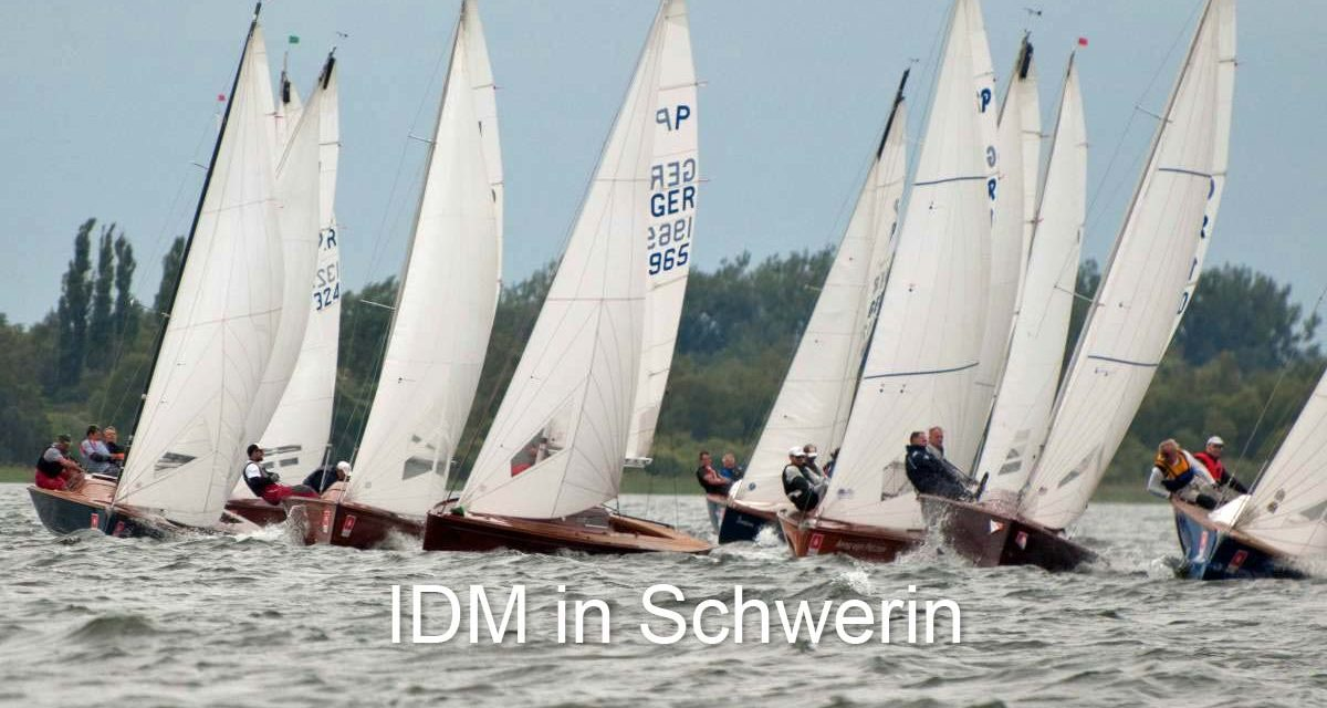 IDM der Jollenkreuzer vom 20.-23. August 2019 in Schwerin